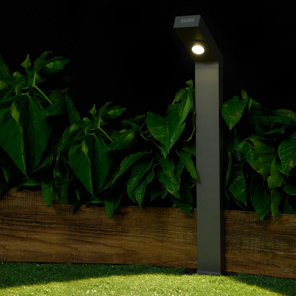 ia 8421-1 Aluminum Die-Cast Housing Outdoor LED Bollard Lamp